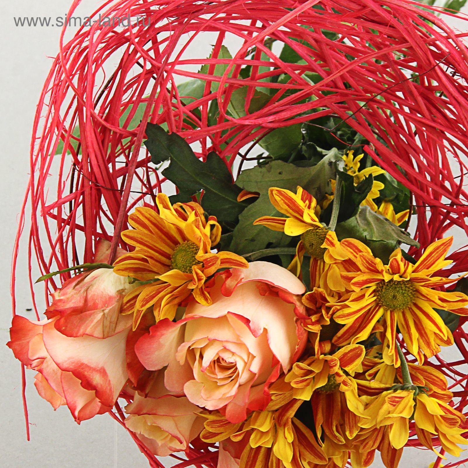 Букеты с ротанга цветов изюм