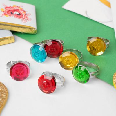 """Ring baby """"Assorted"""", MIX color, dimensionless"""