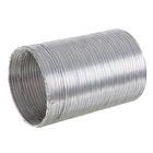 """Воздуховод гофрированный """"Воздух"""", d=100 мм, раздвижной до 1.5 м, алюминиевый"""