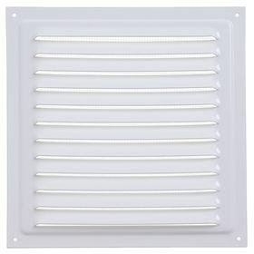Решетка вентиляционная ERA 2020 МЭ, металлическая, 200x200 мм