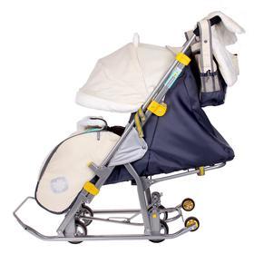 Санки коляска «Ника 7-2», цвет: бежевый (модель 2016 года) - фото 2226733