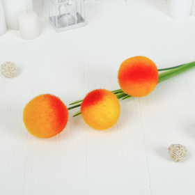"""Цветы искусственные """"Шар"""" 90 см, шарик d-8 см, микс"""