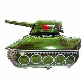 """Шар фольгированный 32"""" «За Родину! Танк Т-34»"""
