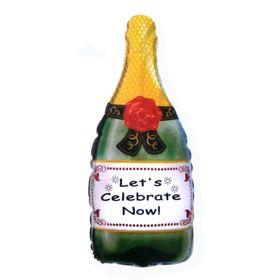 """Шар фольгированный 24"""" «Бутылка шампанского»"""
