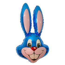 """Шар фольгированный 24"""" «Кролик», цвет синий"""
