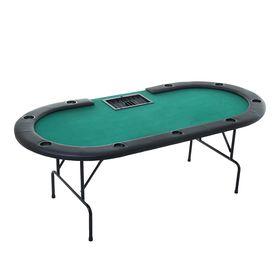 Покерный стол–казино для 9 игроков, складной
