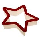 "Форма для печенья 9,5х11 см ""Звезда"""