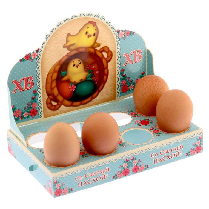 """Подставка пасхальная на 8 яиц """"ХВ. Печёный стиль"""""""