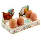 "Подставка пасхальная на 8 яиц ""Со Светлой Пасхой! Цыплята"""