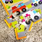 Развивающий коврик - пазл «Транспорт», 28 элементов - фото 106540675