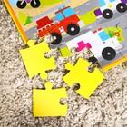 Развивающий коврик - пазл «Транспорт», 28 элементов - фото 106540676