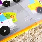 Развивающий коврик - пазл «Транспорт», 28 элементов - фото 106540677