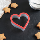"""The cookie cutter 9,5x10 cm """"Heart"""""""