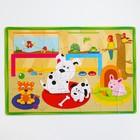 Развивающий коврик - пазл «Домашние животные», 28 элементов - фото 105527594