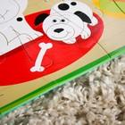 Развивающий коврик - пазл «Домашние животные», 28 элементов - фото 105527597