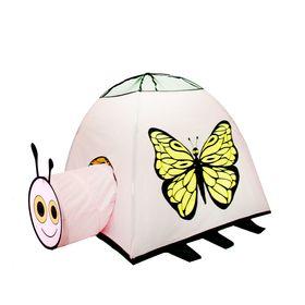Палатка детская игровая «Бабочка» с туннелем