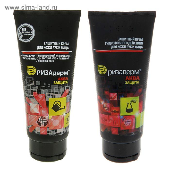 """Защитный крем гидрофобного действия для кожи рук и лица """"Ризадерм: Аква"""",100 мл"""