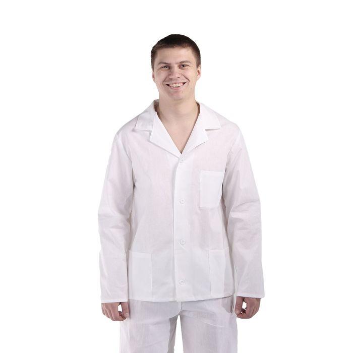 Куртка повара мужская, размер 44-46, рост 170-176 см
