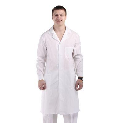 Халат медицинский мужской, размер 44-46, рост 170-176 см
