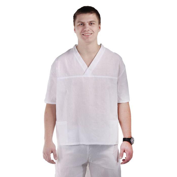 Куртка пекаря, размер 44-46, рост 170-176 см