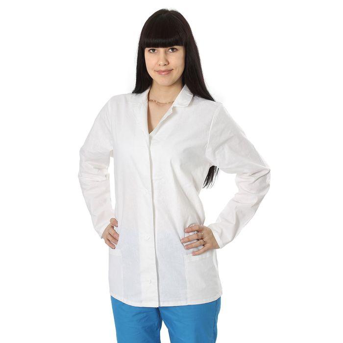 Куртка повара женская, размер 48-50, рост 170-176 см