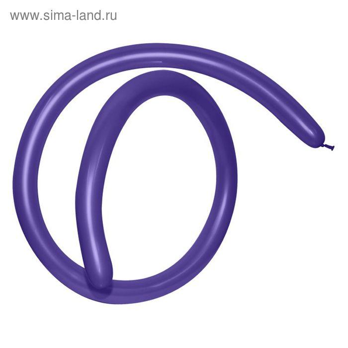 Шар для моделирования 160, пастель, набор 100 шт., цвет фиолетовый
