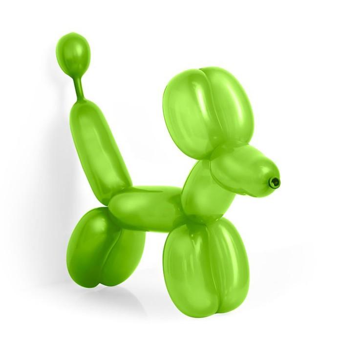 Шар для моделирования 160, пастель, набор 100 шт., цвет светло-зелёный - фото 184800722