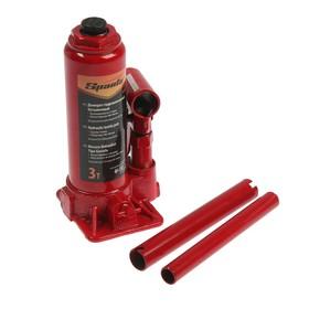 Hydraulic jack Sparta, 3 t, bottle, lift 180-340 mm.