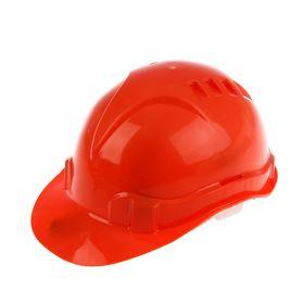 Каска защитная 'СИБРТЕХ', из ударопрочной пластмассы, оранжевая Ош