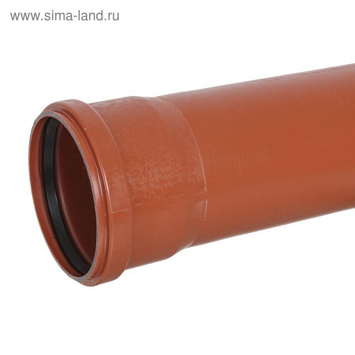 Труба с раструбом 110х1000 наружная