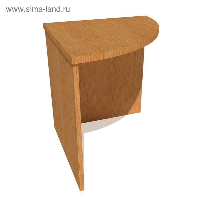 Стол угловой с радиусом 700*700*755 бук бавария
