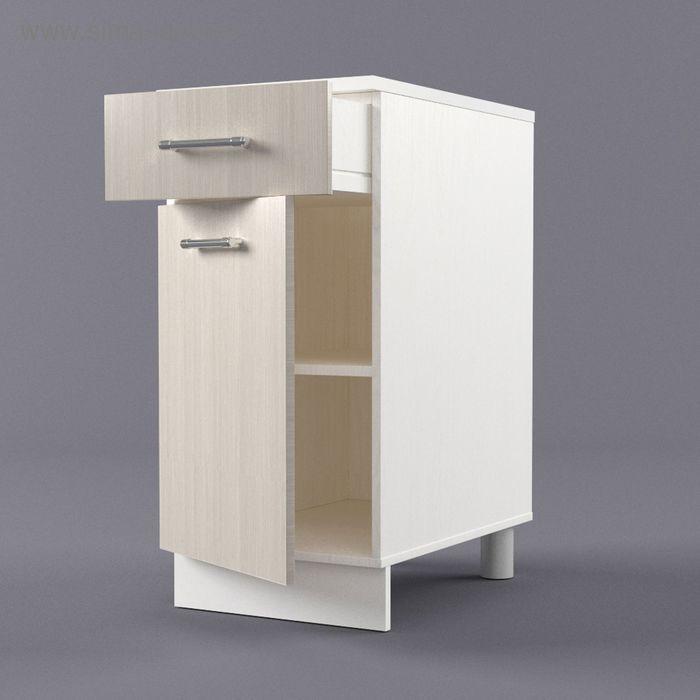 Шкаф напольный 850*400*600 Дуб Сонома