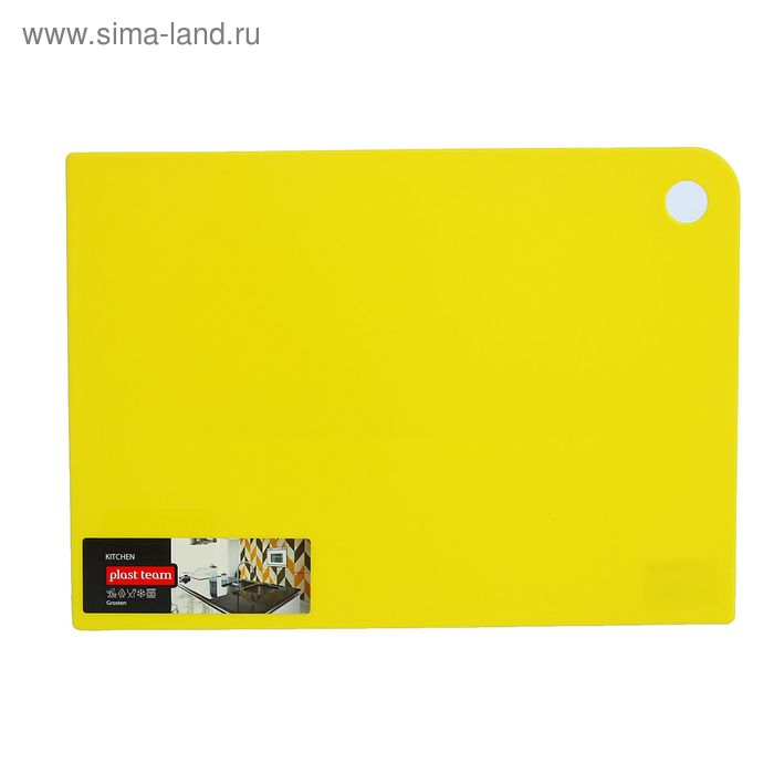 Доска разделочная 35х25 см Grosten, цвет МИКС