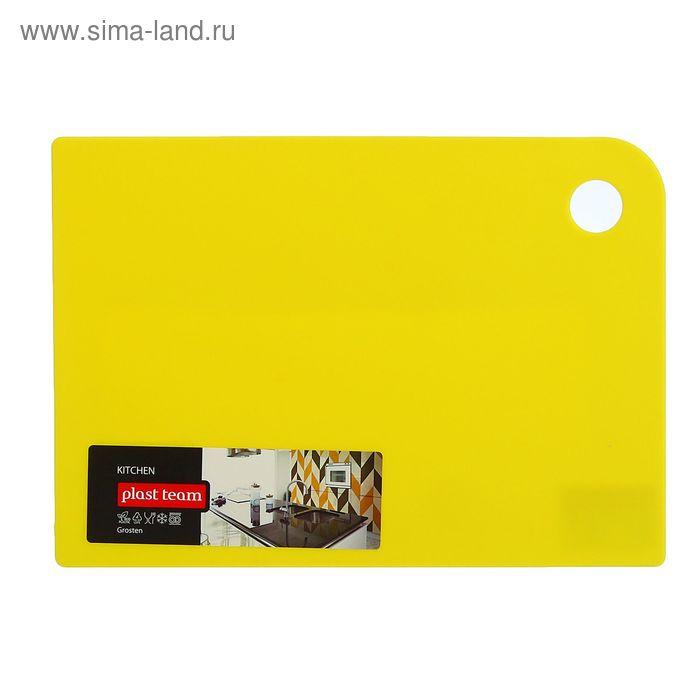 Доска разделочная 25х18 см Grosten, цвет МИКС
