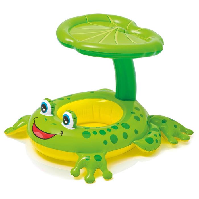 Круг для плавания «Лягушка», с сиденьем, 119 х 79 см, от 1-2 лет, 56584NP INTEX