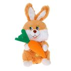 Мягкая музыкальная игрушка «Зайка с морковкой»
