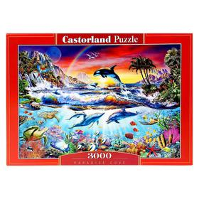 Пазлы «Райская бухта», 3000 элементов