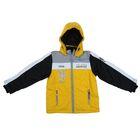 Куртка для мальчика, рост 128-134 см (68), цвет желтый+черный ТФ 32000/2 ТР