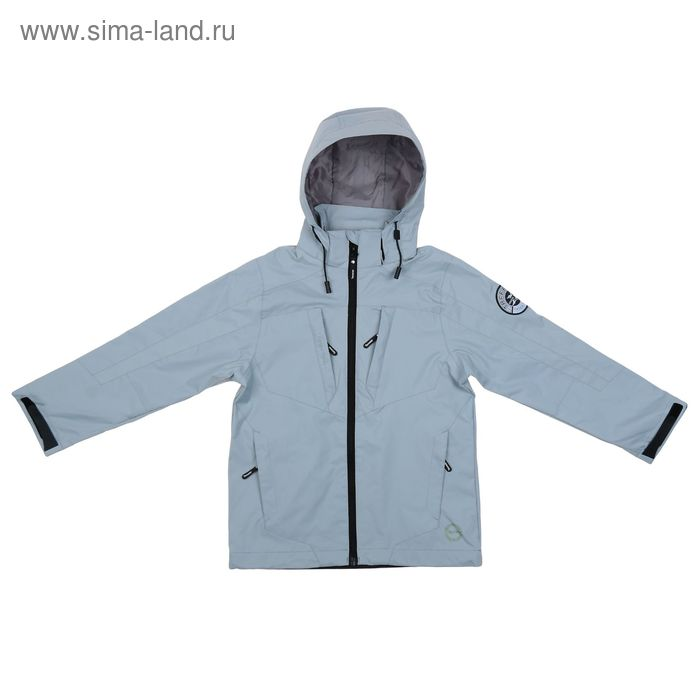 Куртка для мальчика, рост 152-158 см (84), цвет серый ТФ 32003/2 ФФ