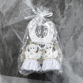 """Сувенир-подвесной """"Подкова"""" с ангелочком, 48 см, микс"""