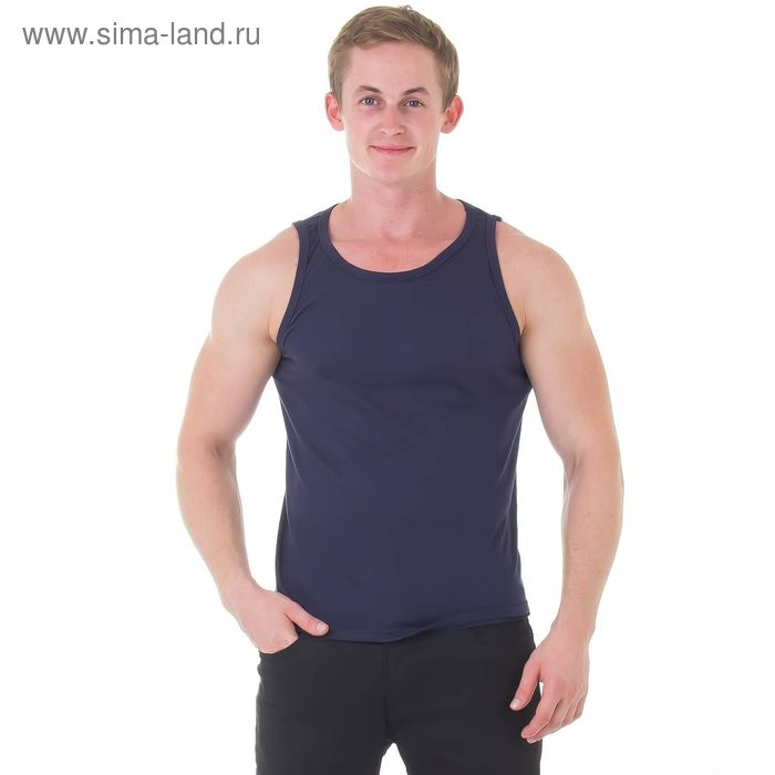 Майка мужская ММ 01-002 МИКС, р-р 50