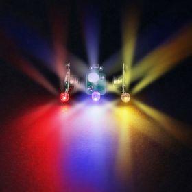 Светодиодный модуль 3D, многоцветный, мигающий
