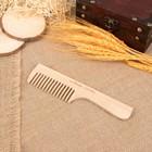 Расчёска деревянная с ручкой