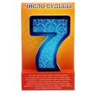 "Талисман удачи-число судьбы ""7"""
