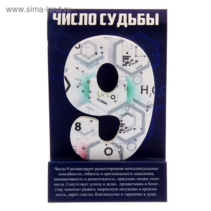 "Талисман удачи-число судьбы ""9"""