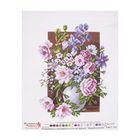 """Рисунок на канве """"Букет цветов"""" 37 х 49 см"""