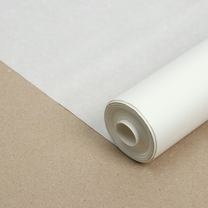 Калька бумажная, ширина 625мм, в рулоне 40 метров, 40г/м2