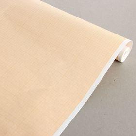 Бумага масштабно-координатная 40 г/м2, ширина 640 мм, в рулоне 10 метров, оранжевая