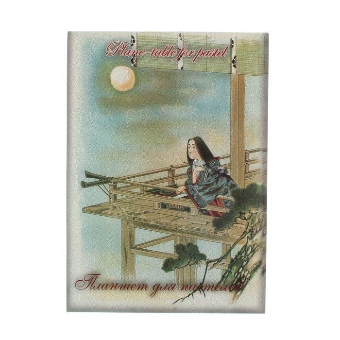 """Планшет для пастели А3, 20 листов """"Японский пейзаж"""", 300г/м2"""