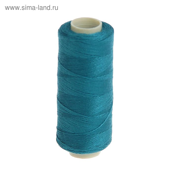 Нитки 40/2, 200м, №271, сине-зелёный